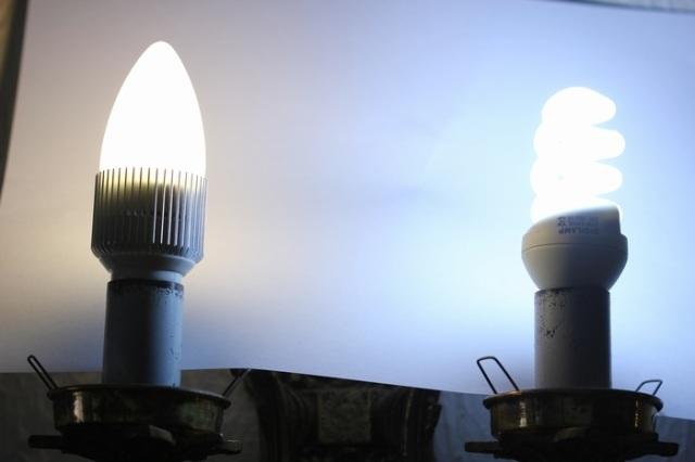 warm white LED vs 15W 6400K CFL