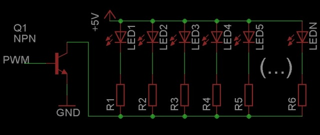 Razer's backlight schematic.