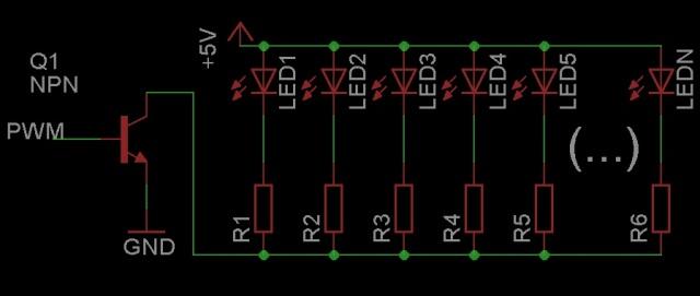 Razer's backlight schematic.